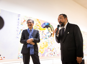 Murakami makes a surprise appearance! MAMC events held at