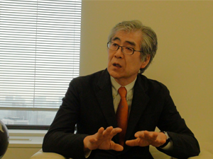 An exhibition to encourage cultural diplomacy, mutual understanding Interview: Nanjo Fumio on