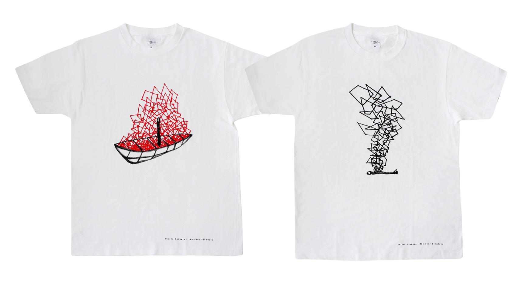 T-shirt with Original Drawing (2 variations)
