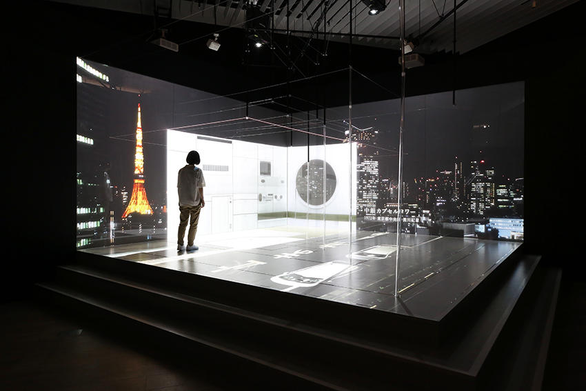 Saito Seiichi + Rhizomatiks Architecture Power of Scale 2018 Installation