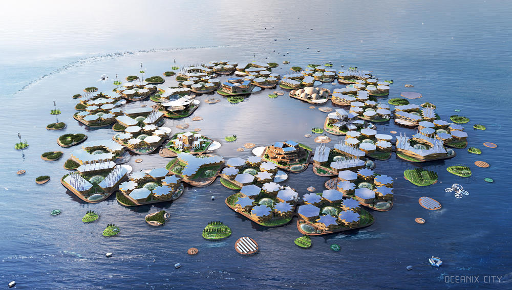Bjarke Ingels Group Oceanix City
