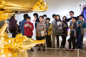 "Intrepid young reporters cover ""Takashi Murakami: The 500 Arhats""! ""Kids Newspaper Project: Kid Reporters Scoop!"" gives children the chance to test their journalistic skills."